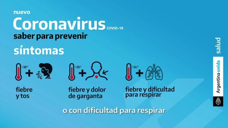 Síntomas del coronavirus: ¿cuáles son y cuándo debo consultar a un médico?