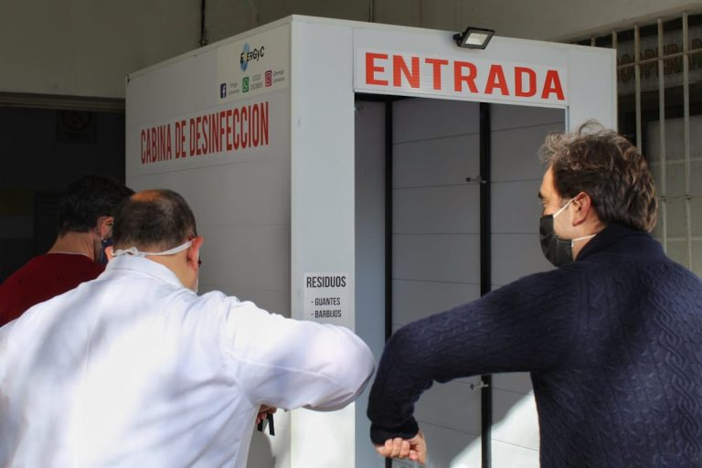 Instalan en Luján un dispositivo cuestionado por la Asociación Argentina de Toxicología