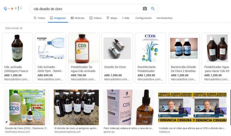 ¿Es recomendable consumir el dióxido de cloro o MMS para prevenir o curar el coronavirus?