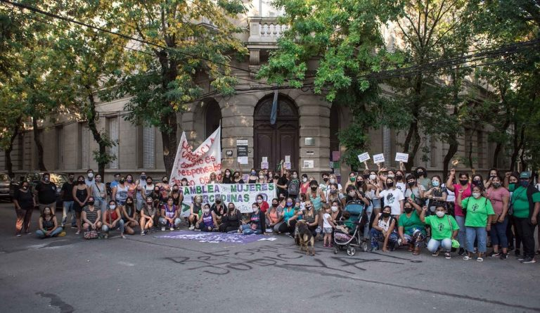 Mercedes movilizó para pedir perspectiva de género en el Poder Judicial